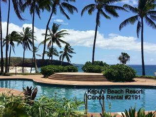 #2191 (1 of 5 Beach Front Units) @ Kepuhi Beach - Maunaloa vacation rentals