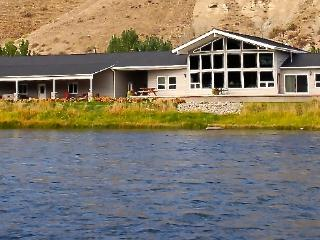 Salmon, Idaho: Diamond Creek Retreat Riverfront - Salmon vacation rentals