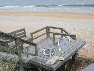 Private Beach Area Directly on the Ocean - 60 Feet - Flagler Beach vacation rentals