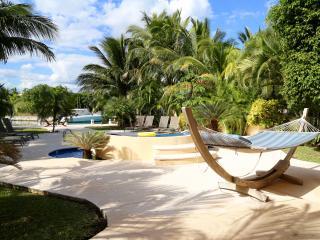 5/6 Waterfront Villa - Staffed, Golf Cart & Kayaks - Puerto Aventuras vacation rentals