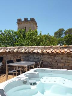 Charming provencal house private jacuzzi: Mathéo - Carnas vacation rentals