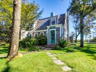 Dog-friendly home w/ lovely views, a huge yard & a private beach on the Sound! - Vineyard Haven vacation rentals