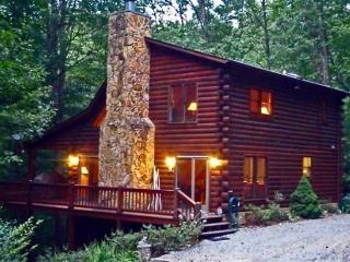 Laurel Creek - A gorgeous three story cabin rental near Mineral Bluff and Blue Ridge, GA - Mineral Bluff vacation rentals