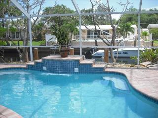 Private Heated Waterfall Pool with Large Lanai - Fort Lauderdale vacation rentals