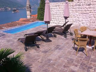 Stone Villa with pool and views of the Bay - Perast vacation rentals