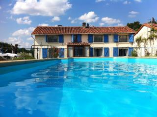 Farmhouse Gite with pool sleeps 10-12 - Nanteuil En Vallee vacation rentals