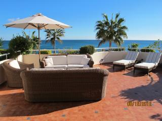 Splendid beach front apartment Estepona - Estepona vacation rentals