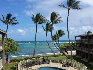 Kauai Oceanfront 2+ Bedroom Condo Vacation Rental $169/night flat NO OTHER FEES! - Kapaa vacation rentals
