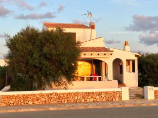 Waterfront Villa Ribas with private pool - Cala'n Bosch vacation rentals
