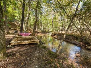 Bear Necessities - Cozy, Rustic Cabin on Creek - Ellijay vacation rentals