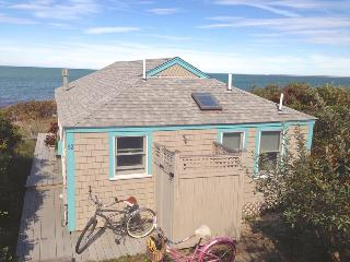 Renovated bayfront cottage directly on bch --052-B - Brewster vacation rentals