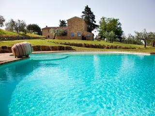 Beautiful Chianti Villa with Guest Cottage and Private Infinity Pool - Villa Riccardo - Poggibonsi vacation rentals