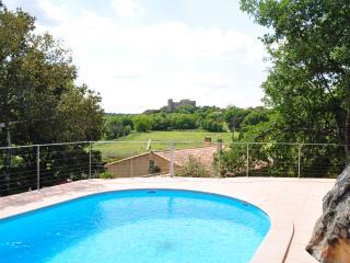 Villa near Nimes with Castle Views - Villa la Capelle - Pouzilhac vacation rentals