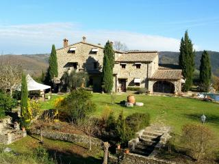 Historic Villa with Pool and Cottage in Umbria - Fortezza Umbra - Ficulle vacation rentals