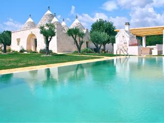 Unique Trulli Villa with Pool and Gardens in Puglia - Villa Trullo - Martina Franca vacation rentals