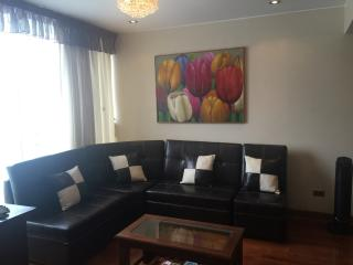 Miraflores TOP FLOOR 1850 sqft Furnished apartment  Take the elevator directly to the front door - Lima vacation rentals