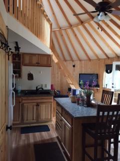 Deluxe Mountain Yurt; cozy w/beautiful views - Fairbanks vacation rentals