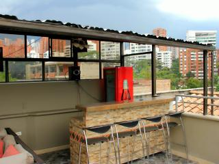 Top Floor Penthouse roof deck AC and Bar - Medellin vacation rentals