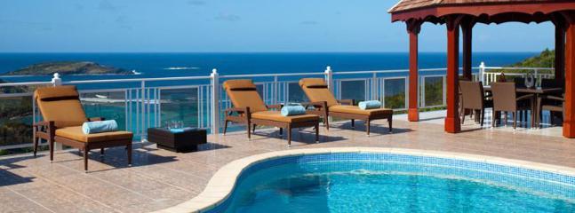 Villa Soleil Levant St. Barths Villa 270 A Roomy Villa Located On The Heights Of Toiny. - Petit Cul de Sac vacation rentals