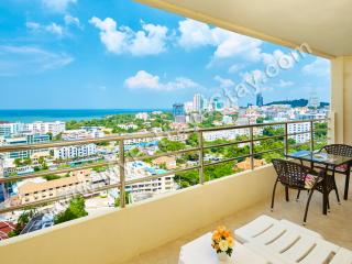 Perfect Condo with Television and Water Views - Pattaya vacation rentals