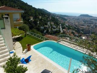 JdV Holidays Villa Amandier, 3 bedrooms and pool with amazing views over Nice! - Nice vacation rentals