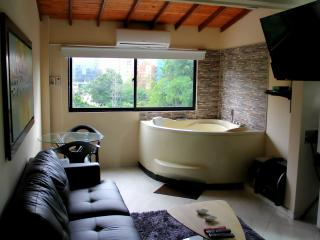 1 Bedroom Hot Tub AC lleras 10 Meg wifi 303 - Medellin vacation rentals