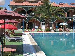 Quiet Studio for 5p with pool & parking 5minutes drive  to beach - Agios Ioannis vacation rentals