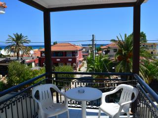 Montes Triple Studio for 3-5pax Sea View 70m from the Beach. - Alykes vacation rentals
