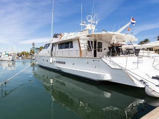 21 M yacht, 4 cabins for 8 guests, car available - Barcelona vacation rentals