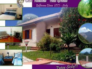 VILLA GRAZIA:  graziosa villetta tra Etna e mare - Santa Venerina vacation rentals