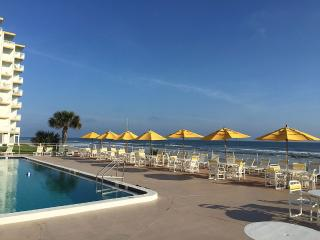 Direct Ocean Front Large Open Beach Area - New Smyrna Beach vacation rentals