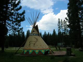 Tipi (Teepee) Camping in the Sierras - Kyburz vacation rentals