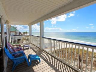 Starline A-AVAIL 8/10-8/13-RealJOY Fun Pass*FREETripIns4NEWFallBkgs*Sleeps 5-Gulf FRONT 3BR/2BA - Mexico Beach vacation rentals