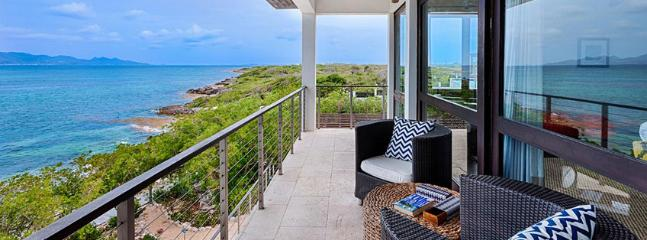 Villa Triton AVAILABLE CHRISTMAS & NEW YEARS: Anguilla Villa 113 Sitting On The South Shore, Anguilla Villa 113 Commands Stunning Views Of The Secluded Cove Beach And The Mountains Of St. Martin. - Little Harbour vacation rentals