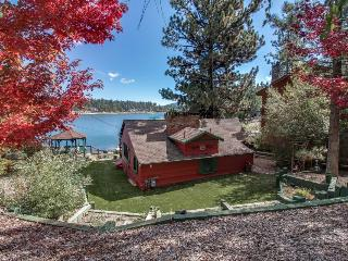 Warm and welcoming dog-friendly cabin on the lake, with a private dock! - Big Bear Lake vacation rentals