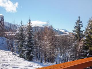 Slope-side flat in the Les Arcs 1800 ski resort in the French Alps, with balcony and central heating - Les Arcs vacation rentals