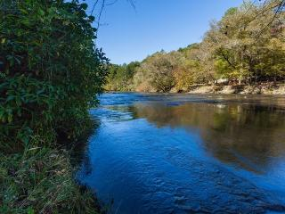 Moose River Lodge - Luxury on the Coosawattee - Ellijay vacation rentals