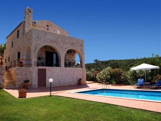 Stone Villa with  private pool & seaview,3bedrooms,wifi,BBQ & outdoor kitchen - Kontomari vacation rentals