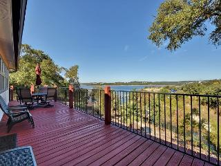 Lakefront House with Multi-Level Decks and Living Spaces - Leander vacation rentals