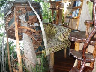 TREE HOUSE Christmas week  with discount /Sleeps 2-8/Ocean/Pool/King-Queen - Puerto Jimenez vacation rentals