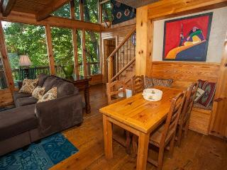 Coyote Bluff - Wall of Glass Overlooking the North Georgia Mountains! Newly redecorated! - Chatsworth vacation rentals