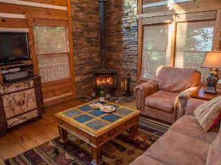 Raccoon Lodge - Spacious living room and kitchen! Pool table and hot tub overlooking the mountains! - Chatsworth vacation rentals
