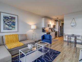 Stylish, dog-friendly condo with a private balcony & Puget Sound views! - Seattle vacation rentals