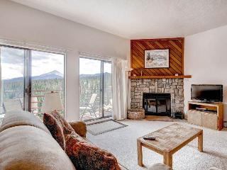 2 BR/2 BA Condo, breathtaking views, inviting atmosphere for 6 - Silverthorne vacation rentals