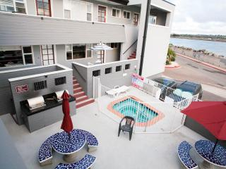 Mission Beach Ocean and Bay View Condo and Parking - Mission Beach vacation rentals