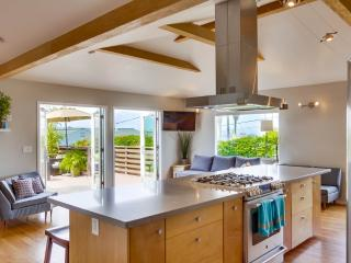 Tranquil Contemporary Beach Home:  Ocean Views with Central Air Conditioning only 2 Blocks to the beach!!! - Pacific Beach vacation rentals