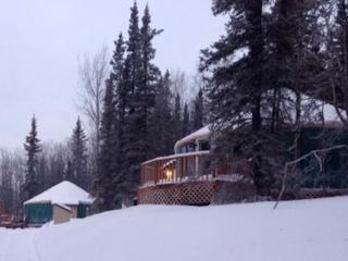 Deluxe Mountain Yurt; cozy w/beautiful views - Fairbanks vacation rentals