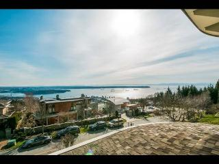 SPECTACULAR, WATER VIEW HOUSE! - West Vancouver vacation rentals