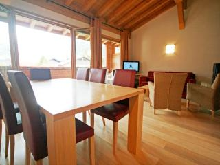 Large 3-bedroom apartment with Mont Blanc view - Les Houches vacation rentals
