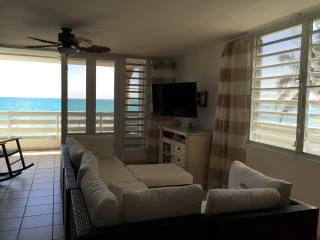 Ground Floor Relaxing and Cozy Oceanfront Condo - Luquillo vacation rentals